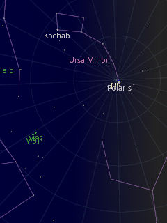 Google Sky Map Screenshot