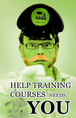 Help Training Courses Needs You